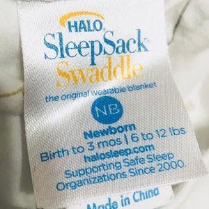 Halo Pajamas - Halo SleepSack Swaddle Elephant (NB - 3 Mo)